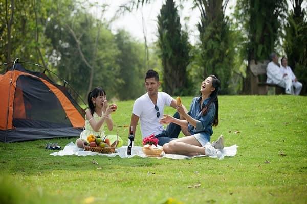 Ecopark với không gian xanh trong lành là một điểm đến vui chơi, nghỉ dưỡng hấp dẫn