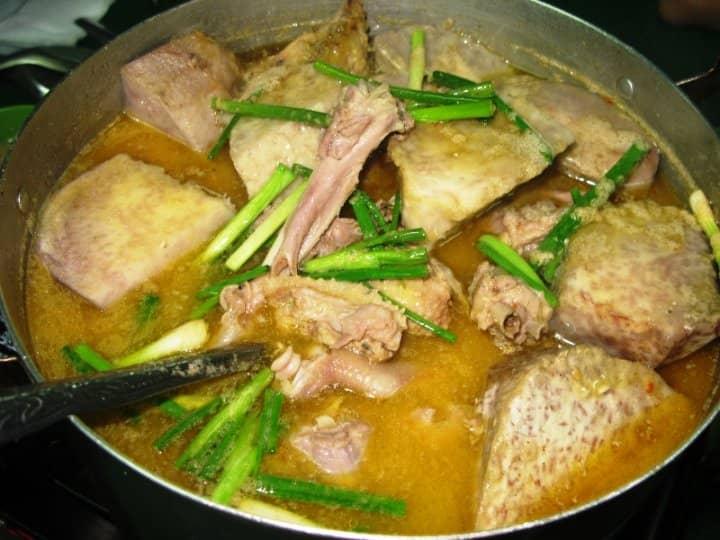 Món vịt nấu chao tới từ Cần Thơ
