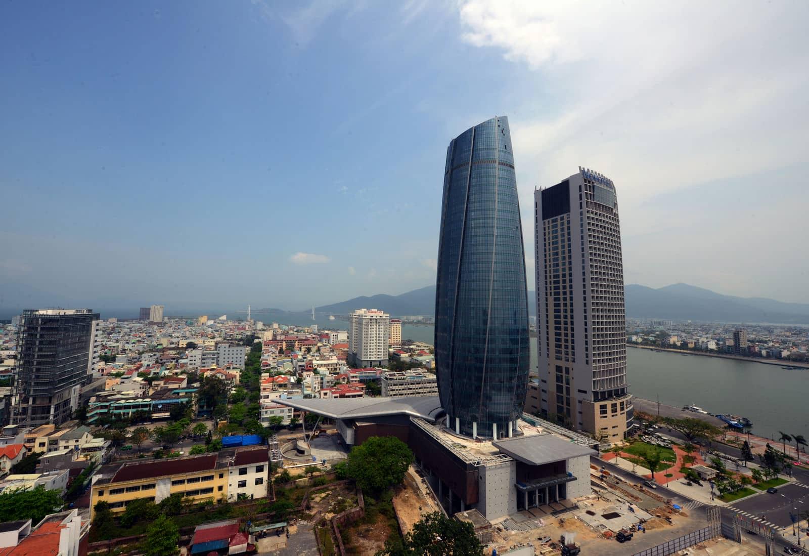 Có rất nhiều khách sạn khu vực trung tâm Đà Nẵng