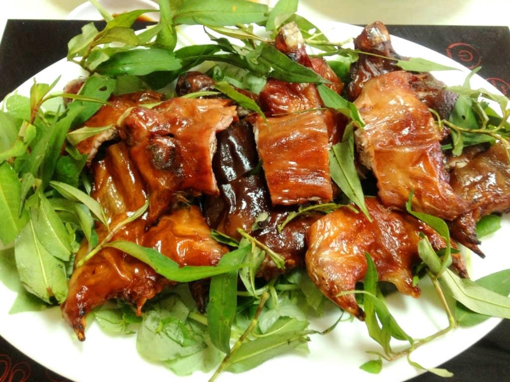 Thịt chuột đồng món ngon của Cà Mau