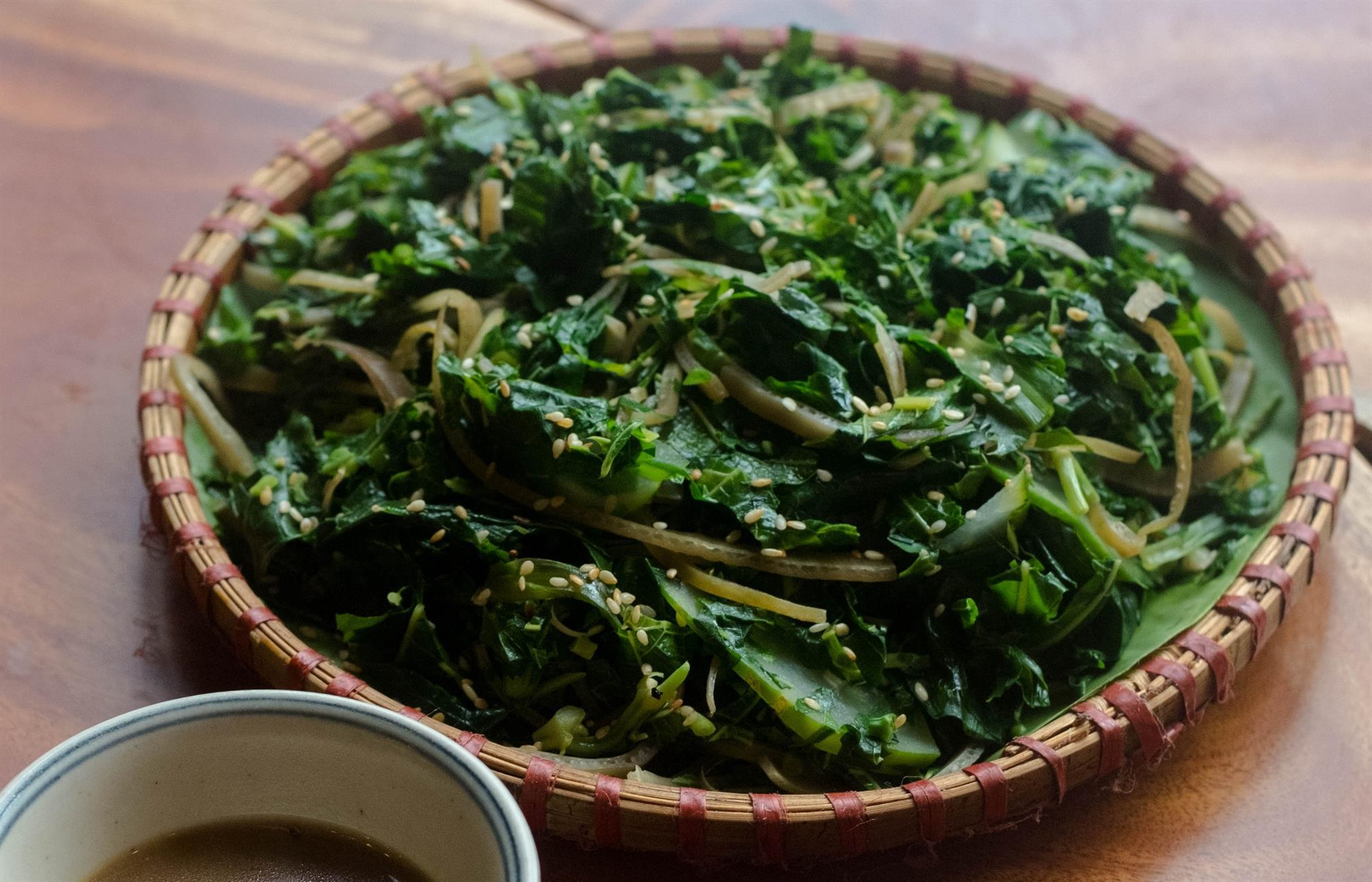 Canh rau sắn đặc sản Phú Thọ