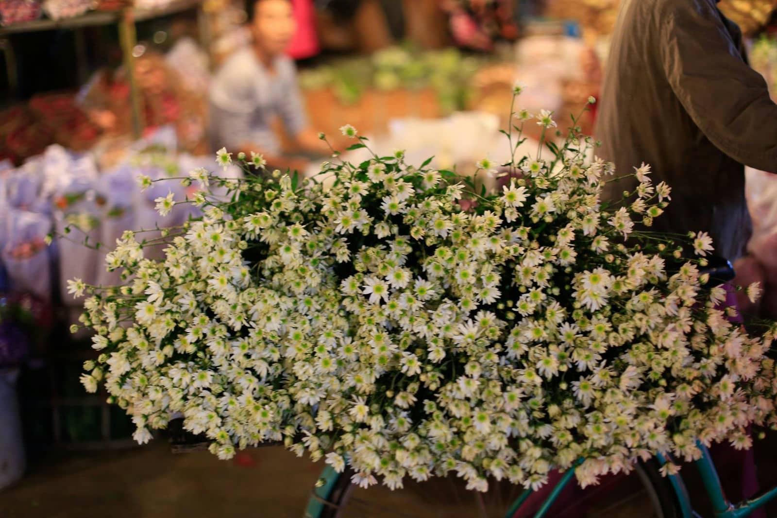 Chợ hoa đêm Mai Dịch Hà Nội