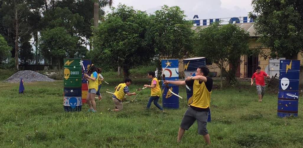 Công viên nông nghiệp Long Việt với nhiều trò chơi dã ngoại hấp dẫn