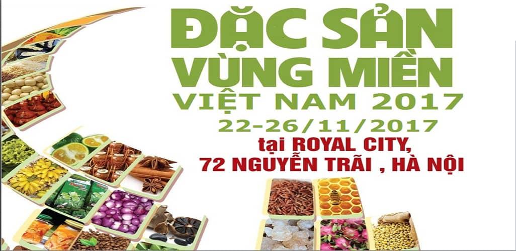 Đặc sản vùng miền Royal City tại Hà Nội năm 2017