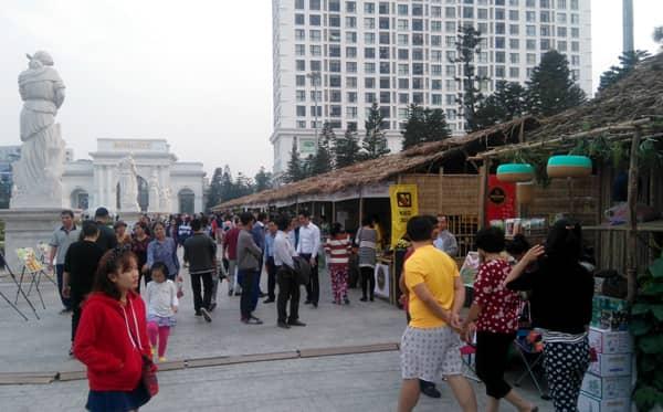 Hội chợ đặc sản vùng miền tại Royal City Hà Nội
