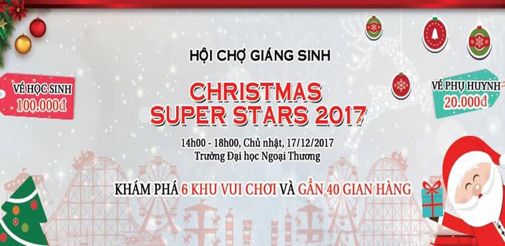 Hội chợ Giáng Sinh 2017 tại Hà Nội