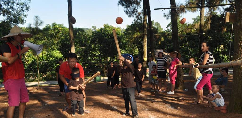 Khu du lịch sinh thái bản Rõm là loại hình trang trại giáo dục - đào tạo kỹ năng sống vô cùng thú vị