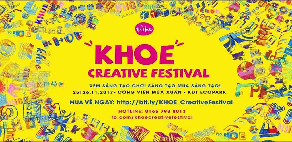 Ngày hội sáng tạo - KHOE Creative Festival