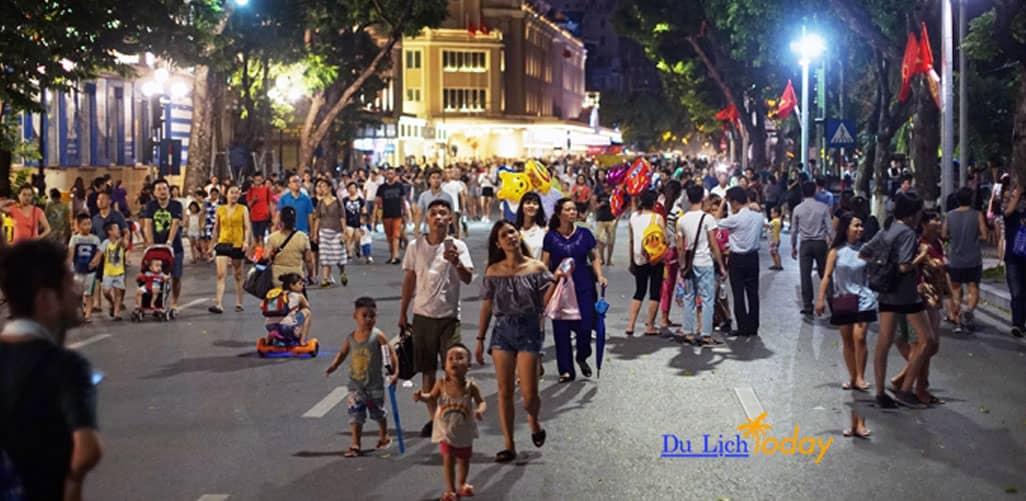 Tuyến phố đi bộ Hà Nội