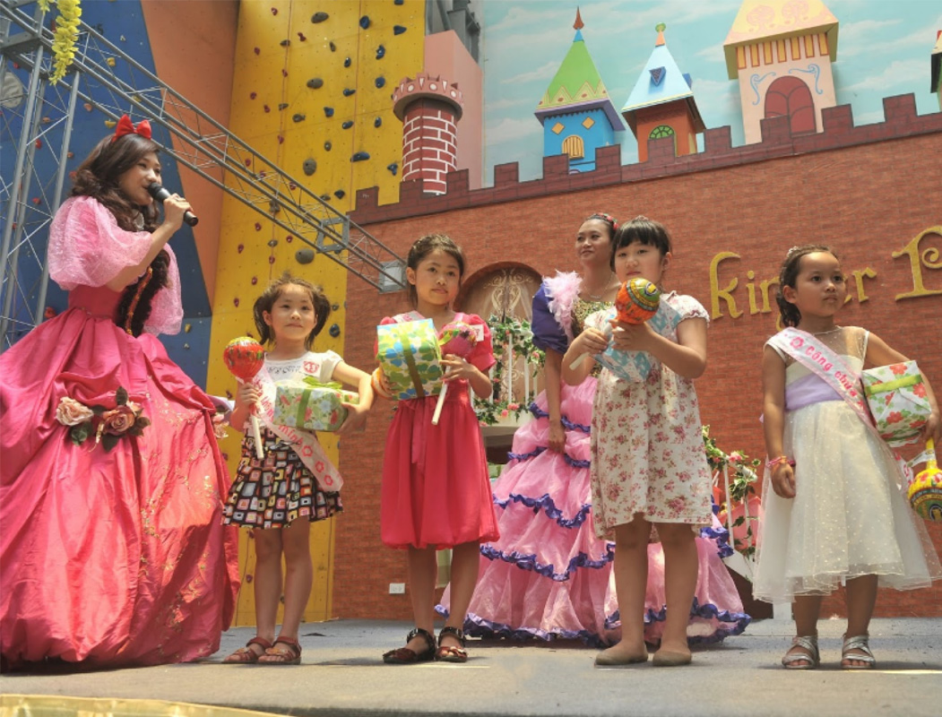 Địa điểm vui chơi ở Hà Nội cho trẻ em tại Kinder Park