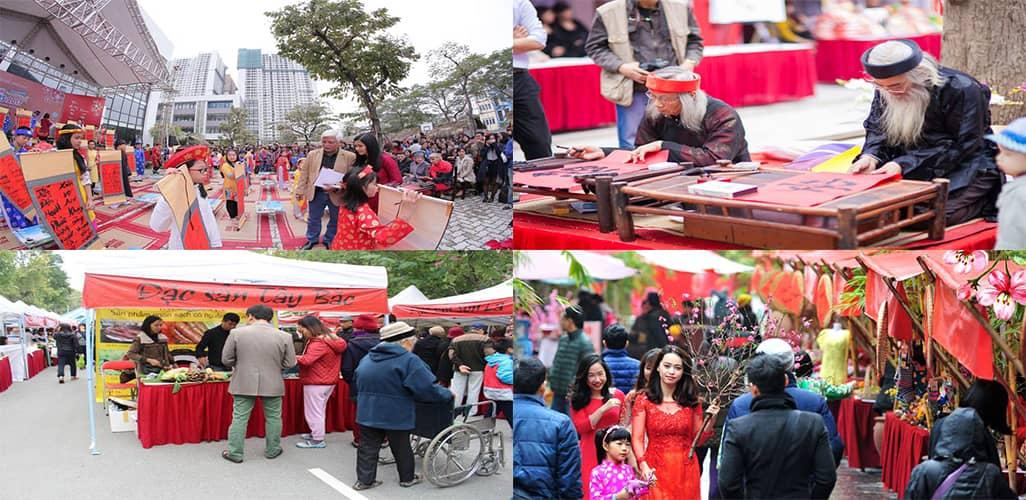 Hứa hẹn hội chợ Tết sẽ thu hút hàng ngàn lượt khách tham quan mua sắm mỗi ngày.