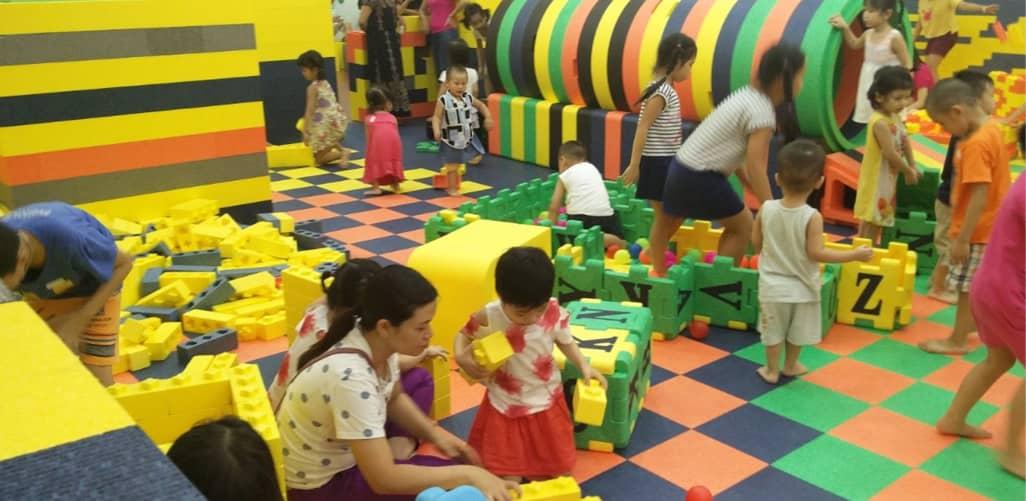 Khu vui chơi cho trẻ em tại Vincom Mega Mall Royal City Hà Nội