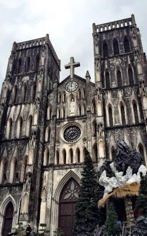 Nhà thờ lớn - nhà thờ chánh tòa Hà Nội