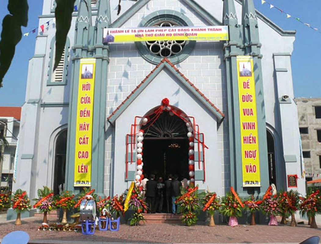 Nhà thờ họ Đình Quán Hà Nội