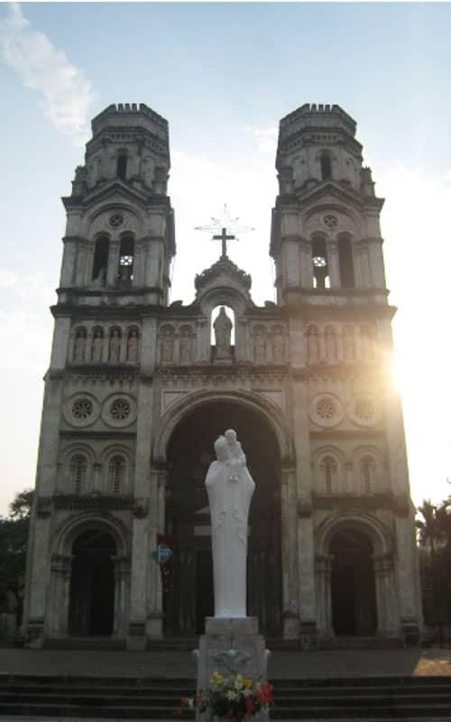 Nhà thờ Làng Tám - Giáo xứ Kẻ Sét