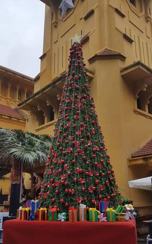 Nhà thờ Bắc - địa điểm tổ chức Giáng sinh tại Hà Nội 2017
