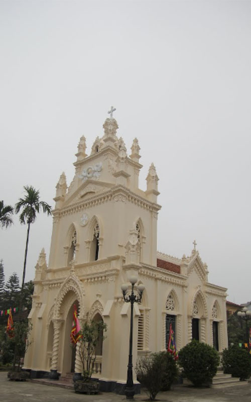 Nhà thờ giáo xứ Đồng Trì Hà Nội