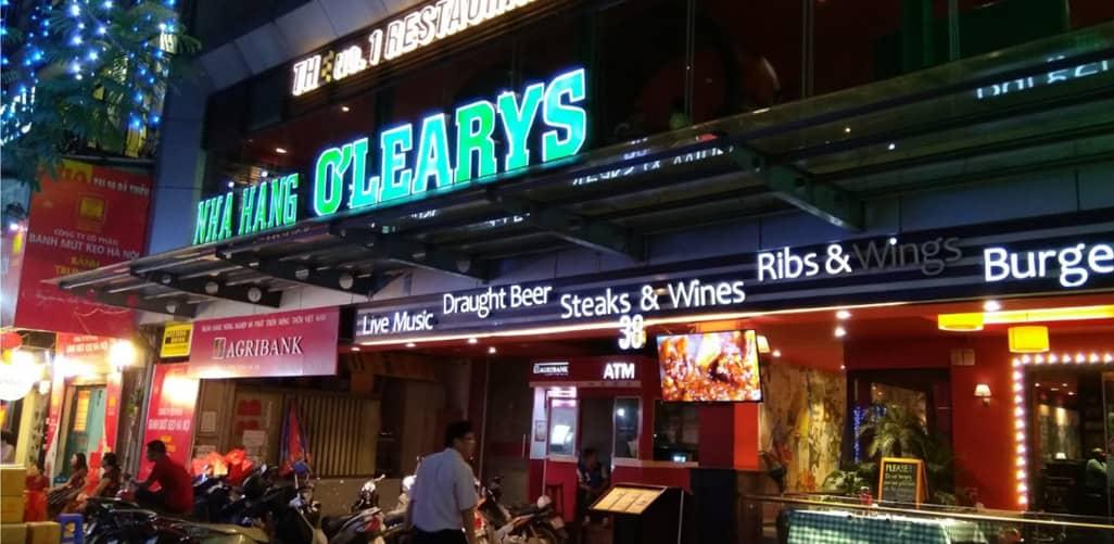 O'Learys Pub Bà Triệu - nơi dân mê bóng đá tụ hội
