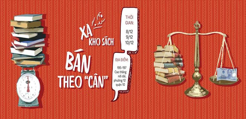 Xả kho sách bán theo cân tại Tp. Hồ Chí Minh