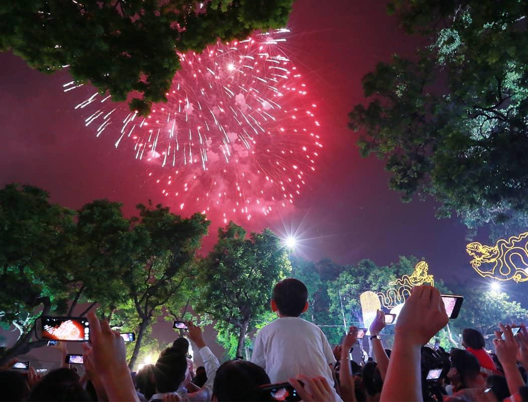 Năm 2018 Hà Nội sẽ cho bắn pháo hoa trở lại với hơn 30 điểm bắn trên khắp thành phố
