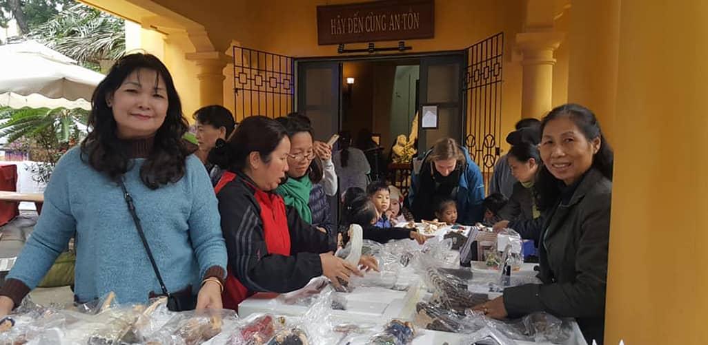 Chợ Giáng sinh kiểu Đức đầu tiên được tổ chức tại Hà Nội