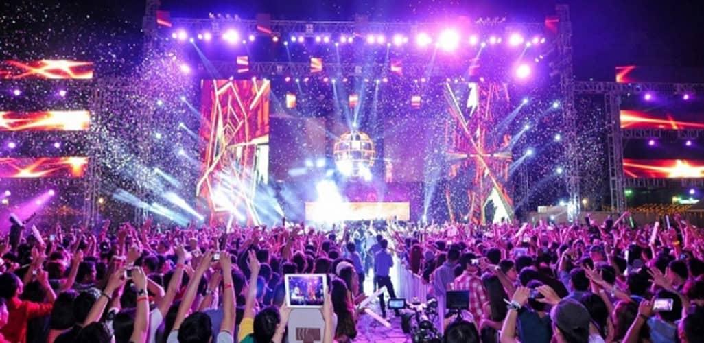 Lễ hội New Year's Countdown LIGHTS 2018 – Đại tiệc ánh sáng mang đến khán giả không khí cực kì sôi động và hấp dẫn