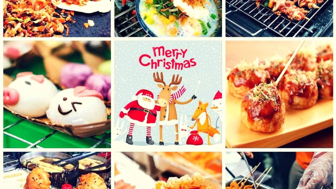 Đi chợ Giáng sinh để thưởng thức 1000 món ăn ngon ngày lễ