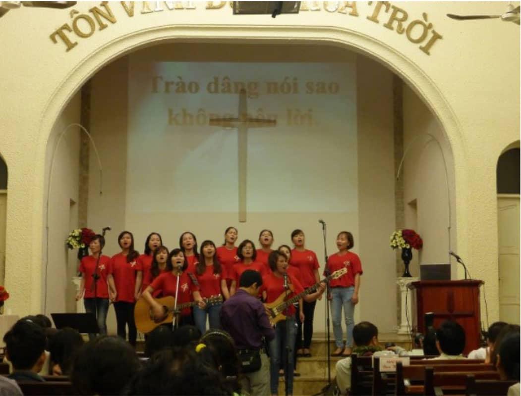 Các hoạt động tại hội thánh tin lành Hà Nội
