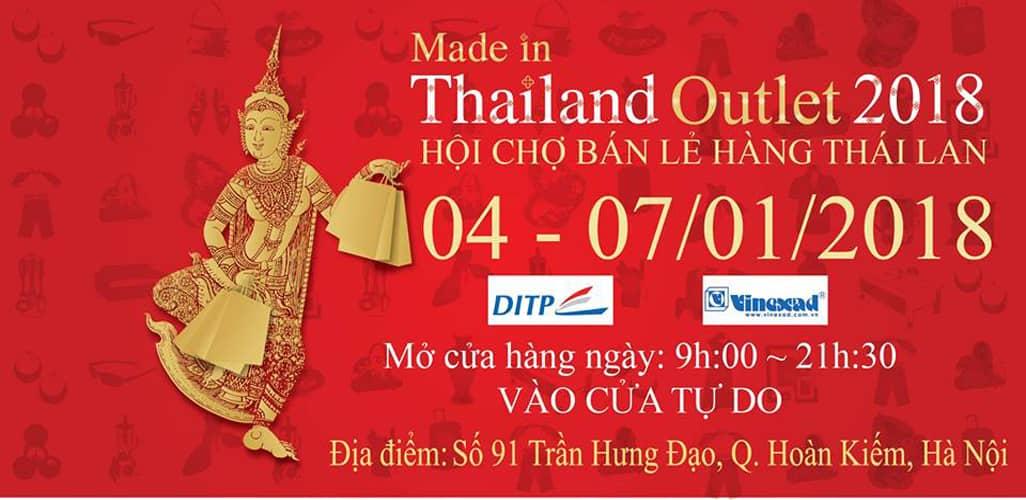 Hội chợ bán lẻ hàng Thái Lan