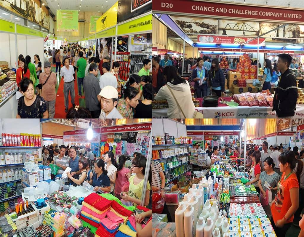 Các sản phẩm chất lượng cao và thương hiệu nổi tiếng trưng bày tại Hội chợ bán lẻ hàng Thái Lan