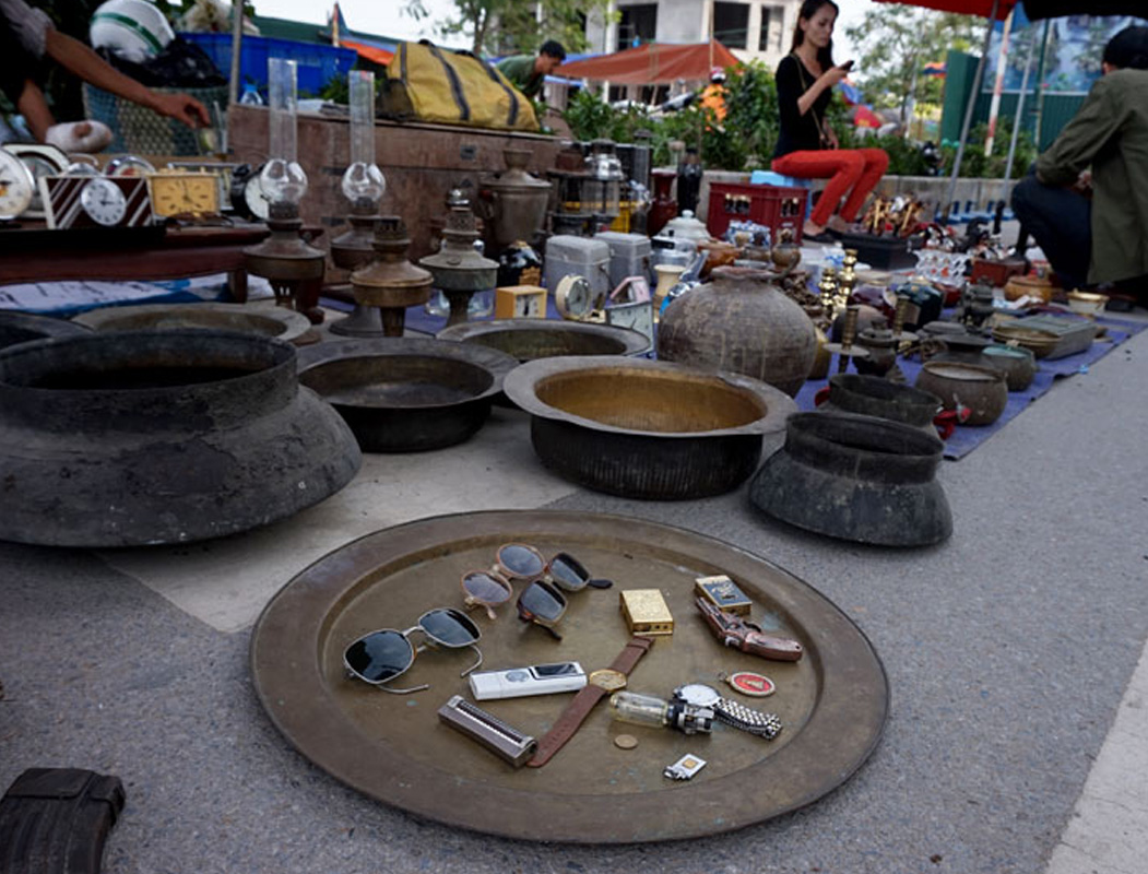 Những món đồ cổ tại Đền Lừ, Hoàng Mai, Hà Nội