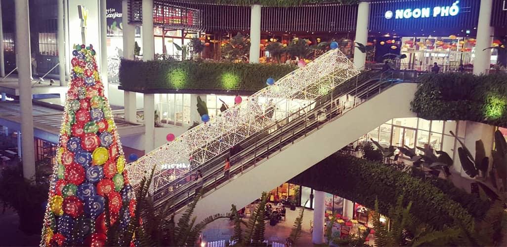 Noel 2017 tại Aeon Mall Long Biên Hà Nội