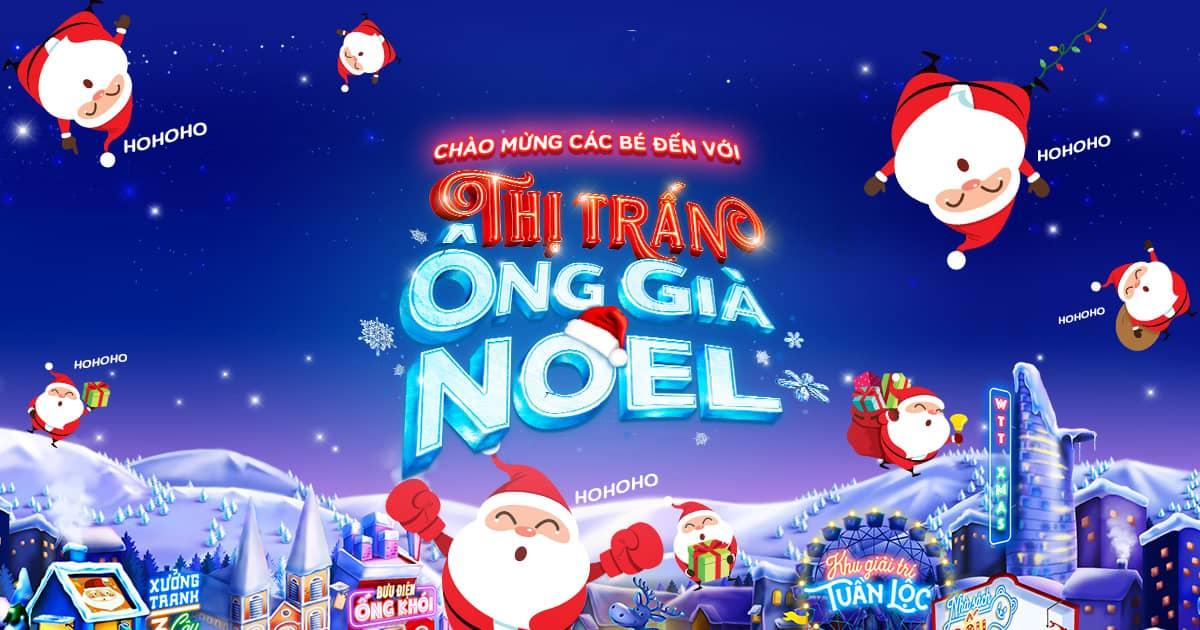 Đội quân ông già Noel còn sẽ diễu hành xung quanh thị trấn để tặng quà nhỏ xinh cho các bạn nhỏ đáng yêu.