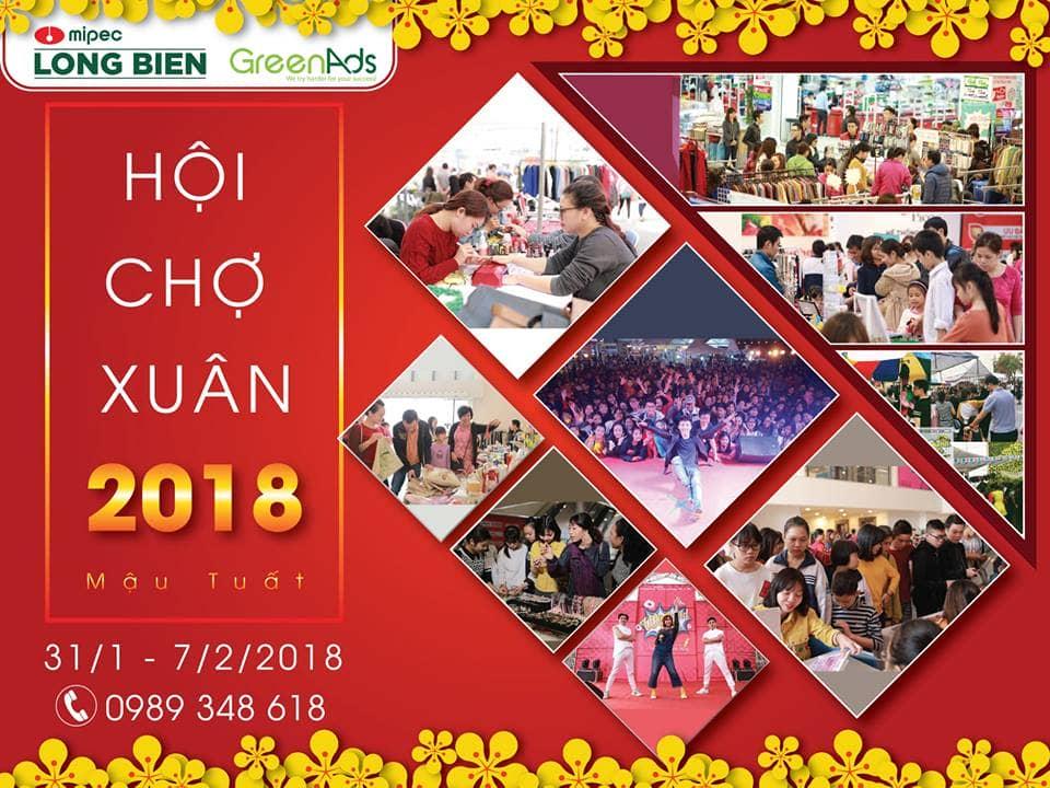 Hội chợ Xuân Mipec Long Biên