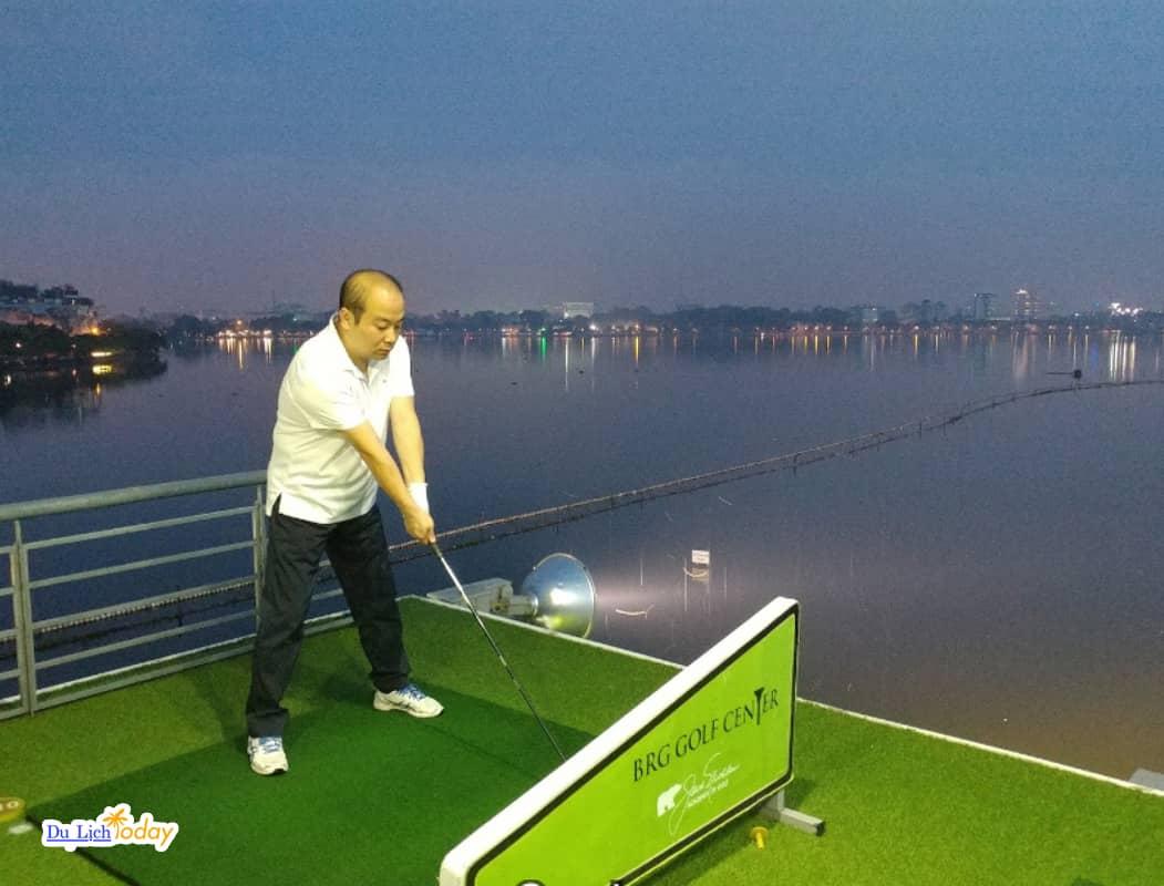 Sân tập Golf Hà Nội BRG Golf center