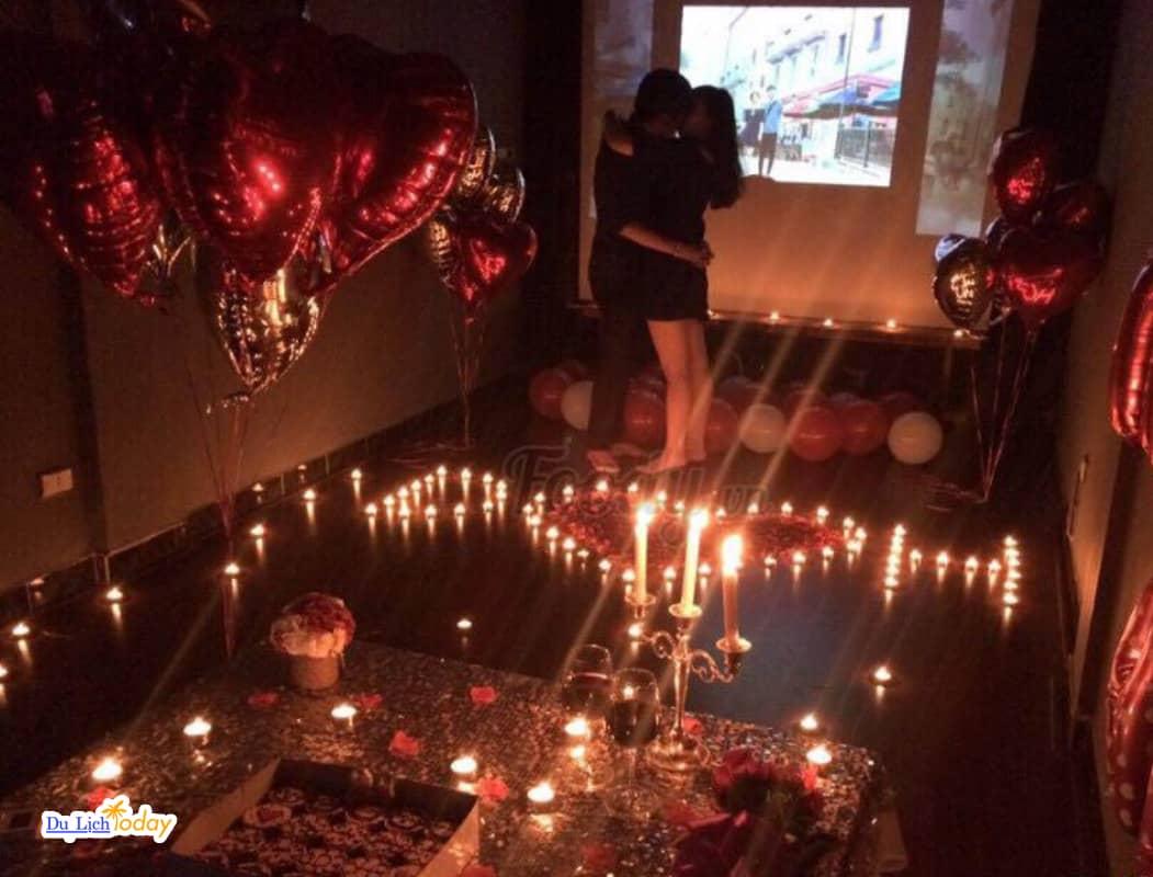 T-Box Cafe phim - khong gian tổ chức sinh nhật lãng mạn