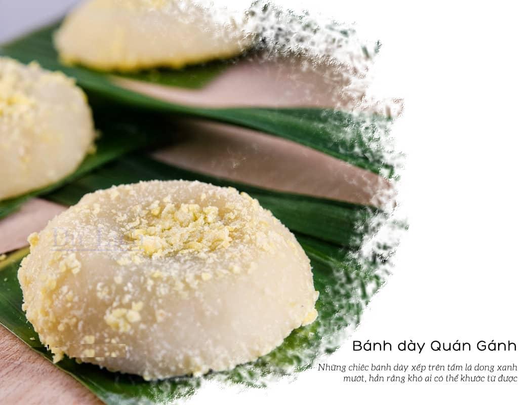 Bánh dày Quán Gánh - đặc sản làm quà ở Hà Nội