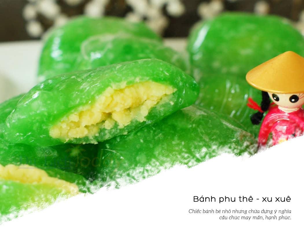Đặc sản Hà Nội mang về - bánh xu xuê