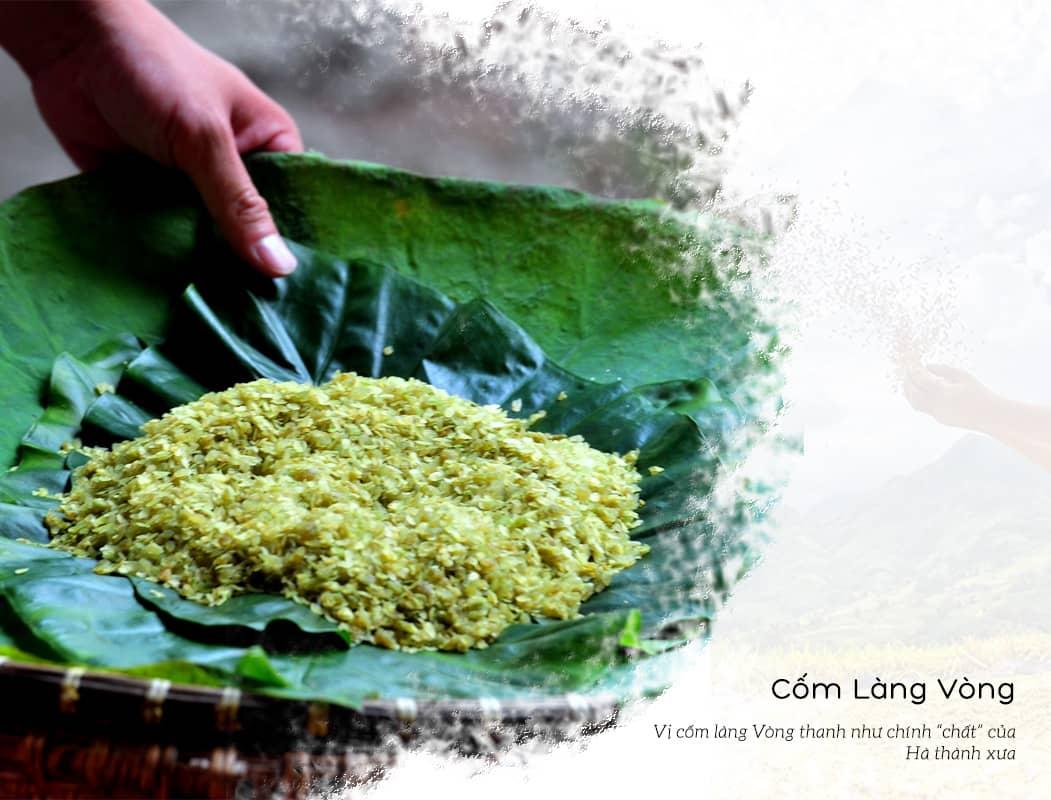 Cốm Làng Vòng - Đặc sản làm quà ở Hà Nội