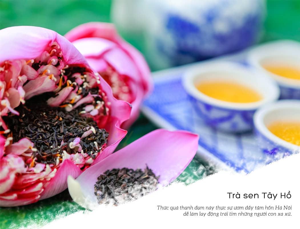 Trà sen Tây Hồ - Đặc sản Hà Nội làm quà biếu bậc nhất
