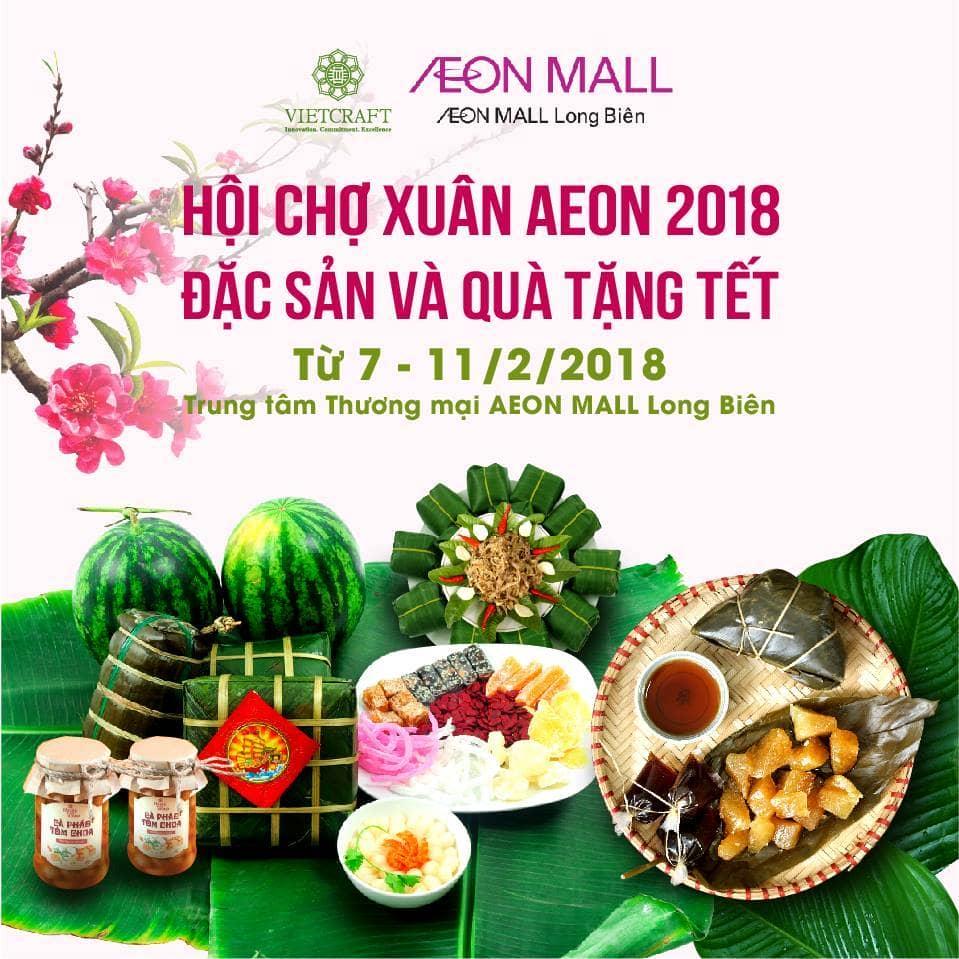 Hội chợ xuân Aeon 2018 với chủ đề đặc sản vùng miền