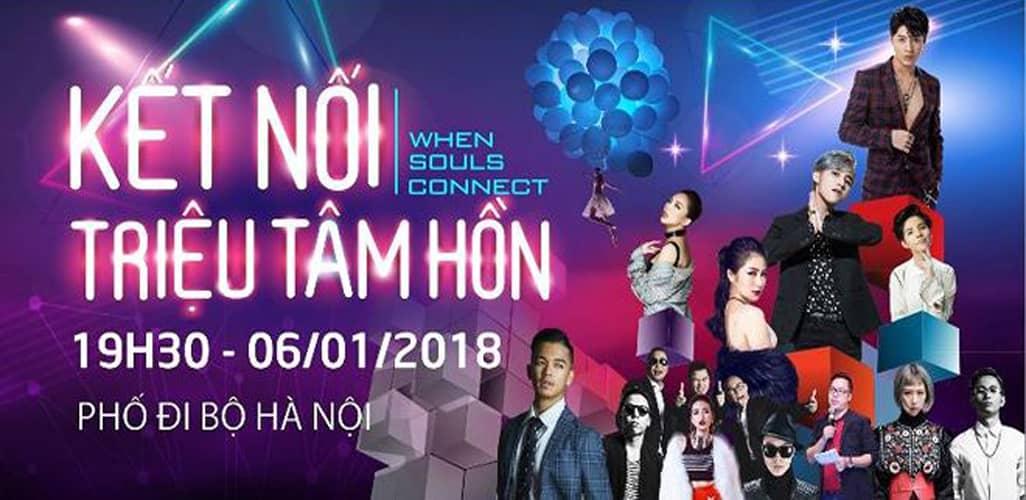 Đại nhạc hội Viettel - Kết nối triệu tâm hồn 2018 tại Hà Nội