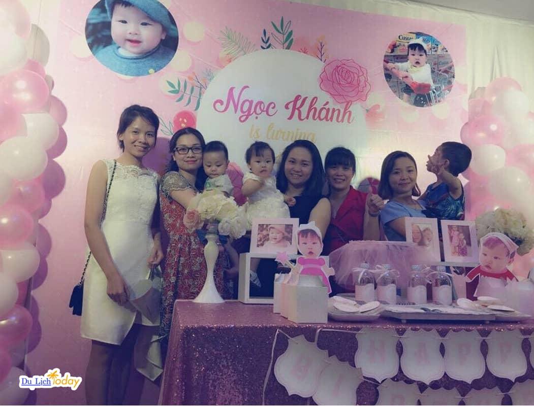 Địa điểm tổ chức sinh nhật đẹp ở Hà Nội là Tràng An Palace