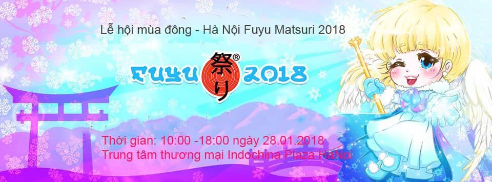 Lễ hội mùa đông - Hà Nội Fuyu Matsuri 2018