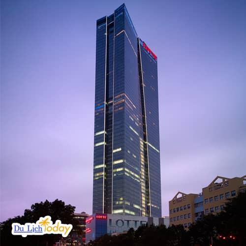 Tòa nhà Lotte cao nhất Hà Nội