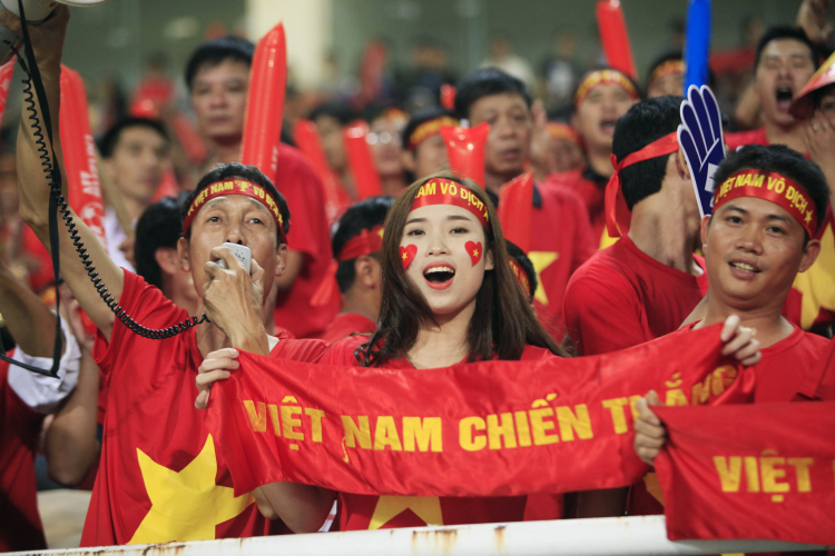 Cùng cổ vũ tuyển U23 Việt Nam chiến thắng