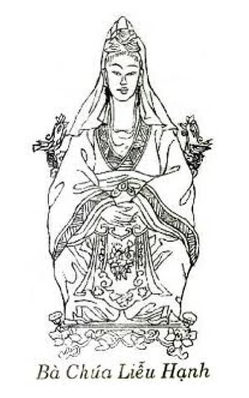 Bà Chúa Liêu Hạnh - một trong bốn vị thánh bất tử của hệ thống điện thần Việt Nam