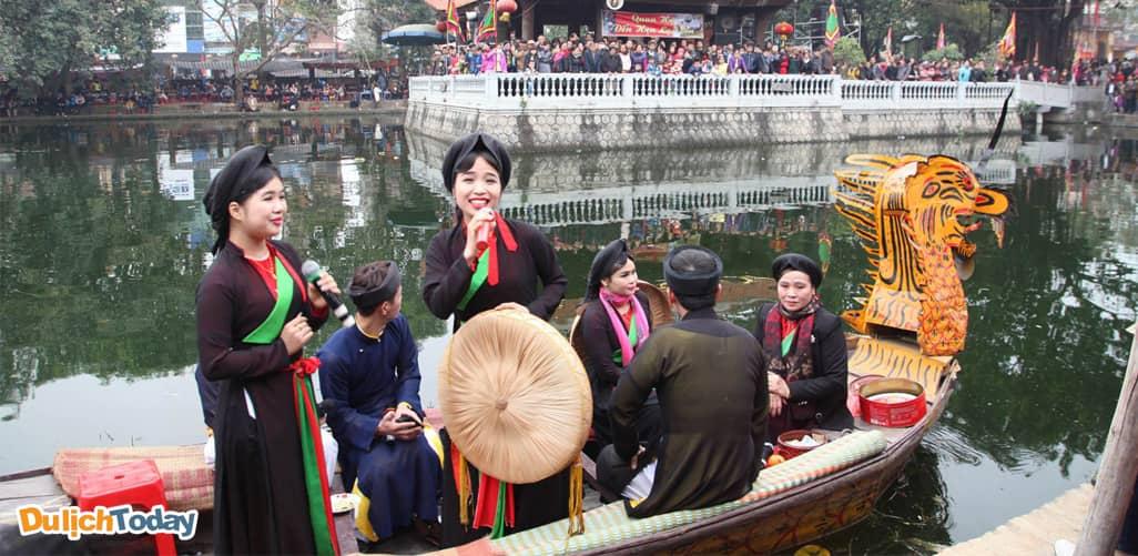 Hội Lim- Bắc Ninh, một trong những địa điểm du xuân gần Hà Nội