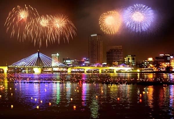 Địa điểm Đà Nẵng bắn pháo hoa 2018