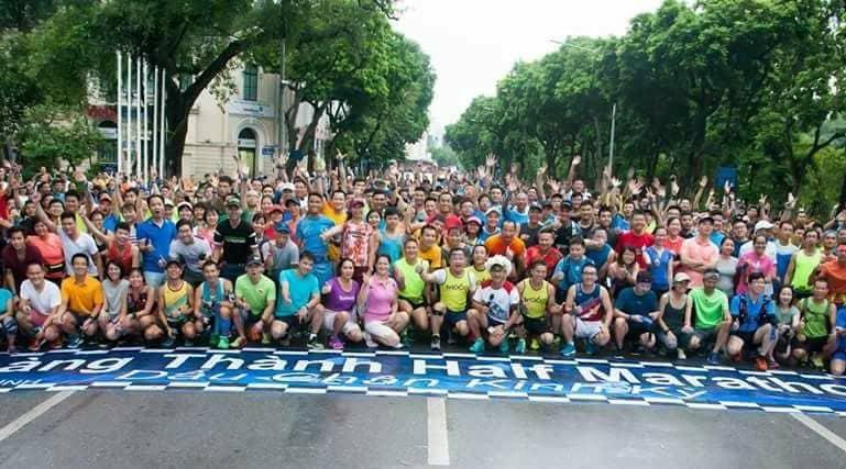 Chạy bộ vì cộng đồng khỏe mạnh và hạnh phúc